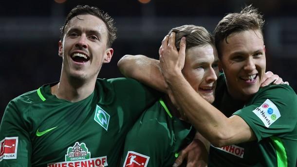 Bremen wirbelt sich wieder zum Sieg