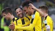 Aubameyang macht BVB doppelt glücklich