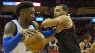 Die Dallas Mavericks verloren das Spiel in Houston doch noch.