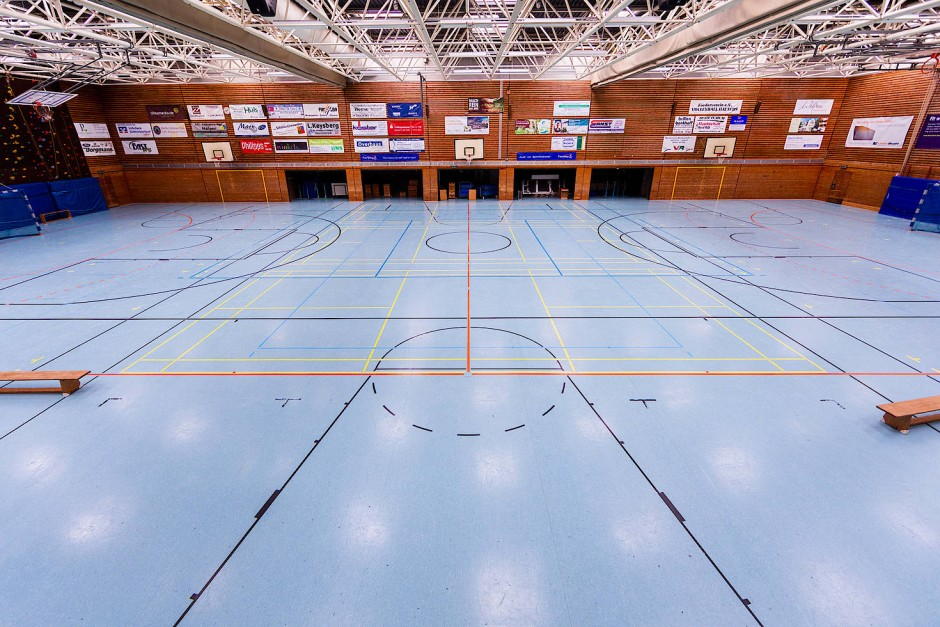 Ohne Vereinssportler: Nachmittags und abends sind Deutschlands Turnhallen leer.
