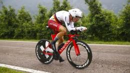 Tony Martin im Zeitfahren Zweiter