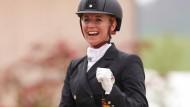 Jessica von Bredow-Werndl gewann auch die Kür in Balve.