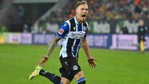 Laursen sichert das Remis für Bielefeld