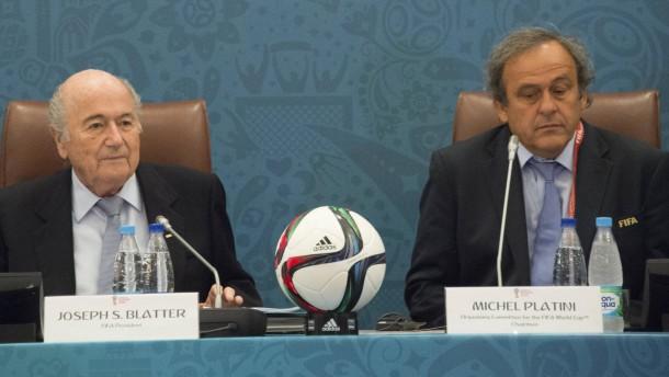 Fifa-Ethikkommission suspendiert Blatter und Platini