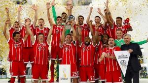 Comeback-Bayern holen den Supercup