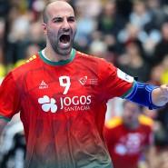 Der nächste Coup bei der EM: Portugal um Joao Miguel Ferraz gewinnt gegen Schweden.