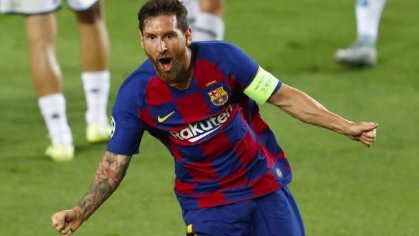 Messi wird nach Gala zum Bayern-Gegner