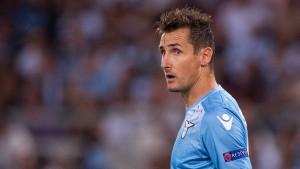 Verletzungssorgen bei Lazio Rom