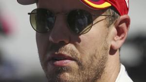 Keine Strafe für Vettel nach Schimpftirade