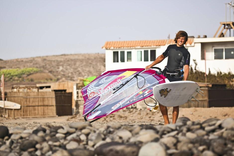 Auf Gran Canaria wurde Köster groß und lernte seine Sportart unter besten Bedingungen