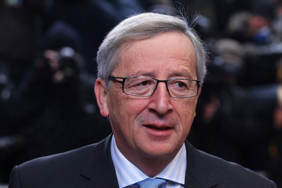 """Jean-Claude Juncker sagte, er sei zuversichtlich, dass man am Montag """"alle notwendigen Entscheidungen"""" treffen kann"""
