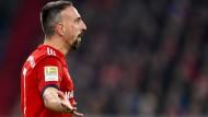 Emotionaler Typ: Bayerns Franck Ribéry soll nach dem Spiel in Dortmund eine Auseinandersetzung mit einem TV-Experten gehabt haben.