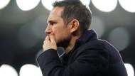 Zeit abgelaufen: Frank Lampard in London entlassen