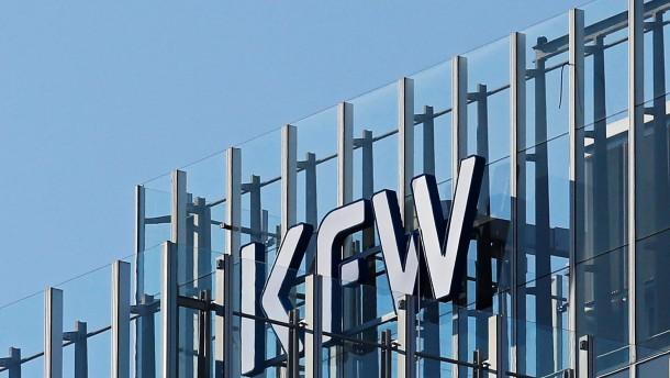 Staatsbank KfW hängt alle anderen ab