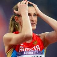 Russische Hochspringerin Anna Wladimirowna Tschitscherowa: 2008 nachträglich des Dopings überführt. 2012 trotzdem Olympiasiegerin.