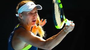 Caroline Wozniacki im Finale