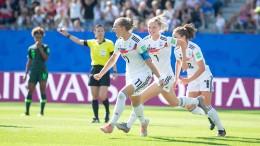 Das deutsche Team ist endlich mutiger