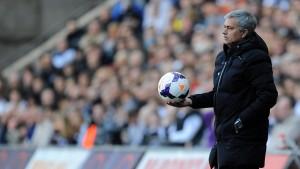 Im 78. Heimspiel erwischt es Mourinho