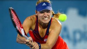 Kerber eröffnet die Australian Open