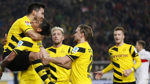 Dortmund spielt nicht wie ein Absteiger