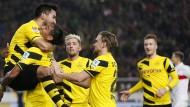 Dortmund obenauf: Der BVB siegt in Stuttgart und entfernt sich von den Abstiegsplätzen