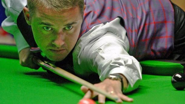 Der erstaunliche Ehrgeiz der Snooker-Legende