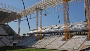 Tödlicher Unfall auf WM-Baustelle