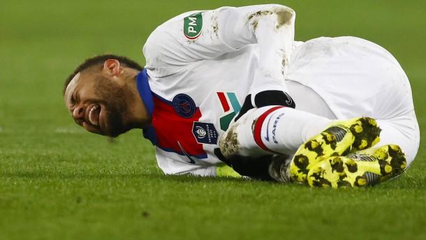 Neue Sorge um verletzten Neymar vor Barça-Spiel