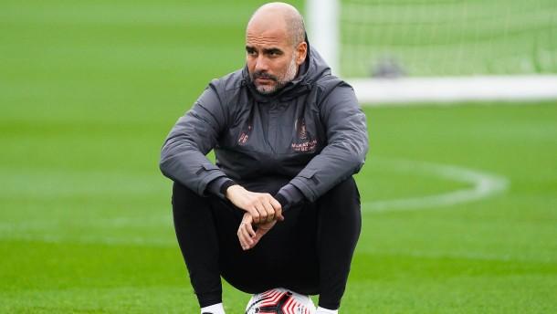 Der Tüftler Guardiola in der Krise