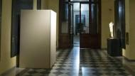 Italien versteckt nackte Statuen für Irans Präsidenten