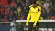 Ein Häuflein Elend: Pierre-Emerick Aubameyang und der BVB enttäuschen bitter in Lissabon