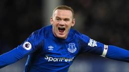 Rooney gelingt perfekter Schuss aus 55 Metern