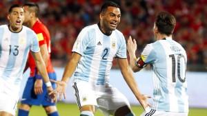 Messi kehrt zurück, Argentinien siegt