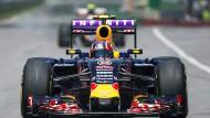Die Weltmeister-Zeiten von Sebastian Vettel sind vorbei, Daniil Kvyat fährt nicht mehr vorne mit