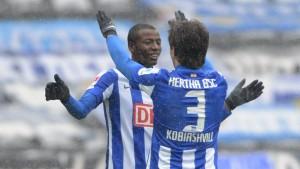 Hertha stürmt Richtung Bundesliga