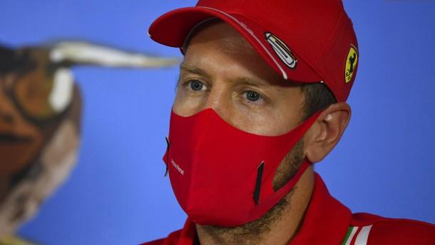 Vettels einsamer und trauriger Kampf