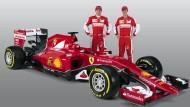 Ferrari präsentiert neues Vettel-Auto