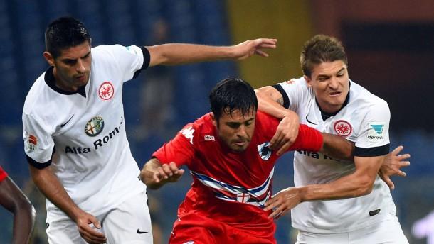 Eintracht verliert bei Sampdoria mit 2:4