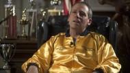 """Exzentrischer Millionenerbe John E. du Pont (gespielt von Steve Carrell): """"Alles an ihm war versponnen"""""""