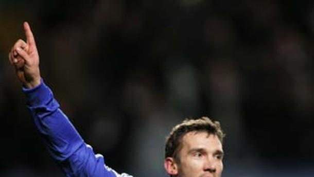 Schewtschenko bringt Chelsea weiter