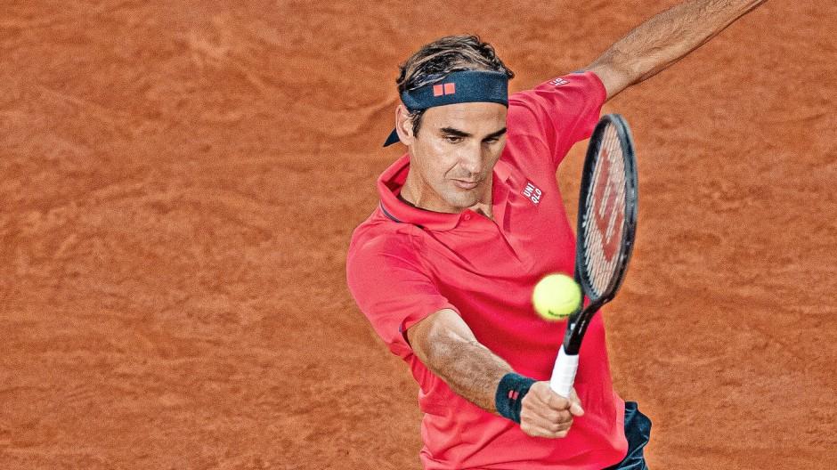 """""""Es mag komisch klingen, die French Open als Vorbereitung auf die Rasensaison zu bezeichnen, aber so ist es"""", sagt Roger Federer."""