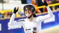 Glückliche Siegerin: Franziska Brauße