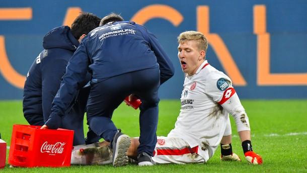 Torhüter Zentner fällt bis Saisonende aus