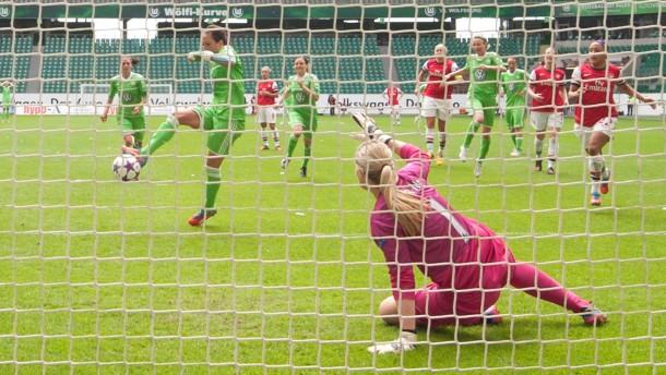 Wolfsburg im Finale der Champions League