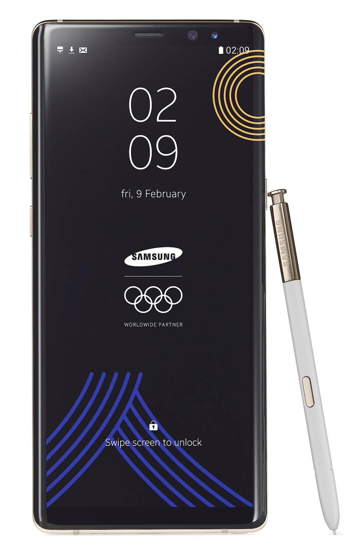 Der Grund des Ärgernisses: dieses Smartphone erhalten (fast) alle Olympiateilnehmer als Willkommensgeschenk.
