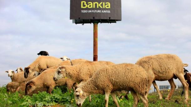 Mehr als ein schwarzes Schaf: Spanische Banken haben immer mehr faule Kredite