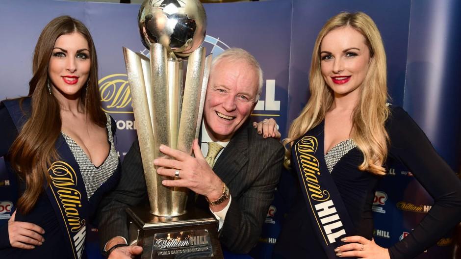 Barry Hearn machte die Darts-WM zu dem Spektakel, das es heute für viele ist.