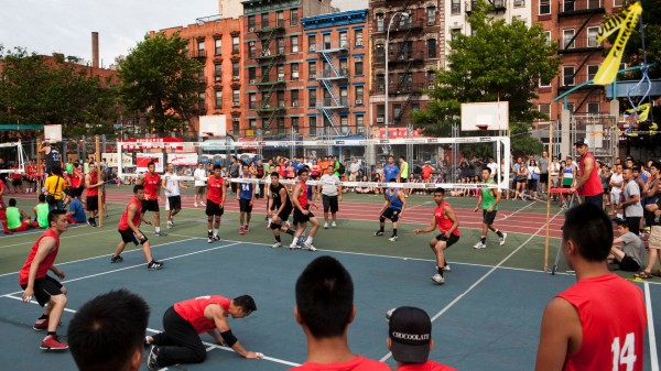 9 The New York mini volleyball tournament