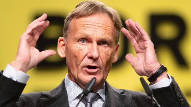 Watzke poltert gegen Trainer-Kritiker Scholl