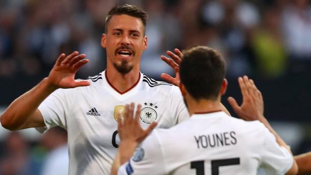 Deutschland schießt sich für Confed Cup warm